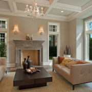 Classic Design Fireplace by fireplace materials provider Savannah Surfaces in Hardeeville, SC